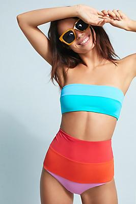 Slide View: 2: Mara Hoffman Bandeau Bikini Top
