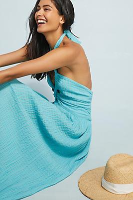 Slide View: 1: Mara Hoffman Cover-Up Halter Dress