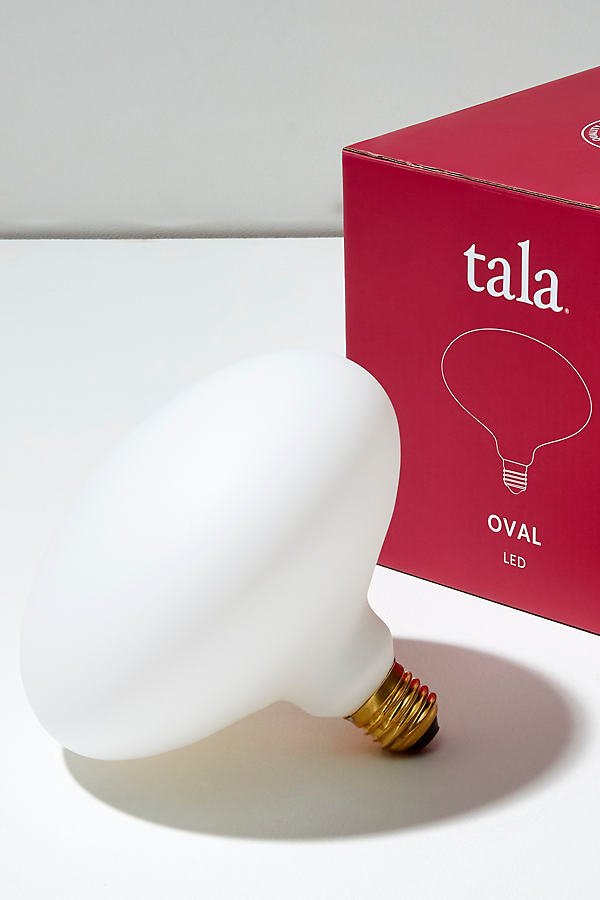 Tala Oval Bulb - White