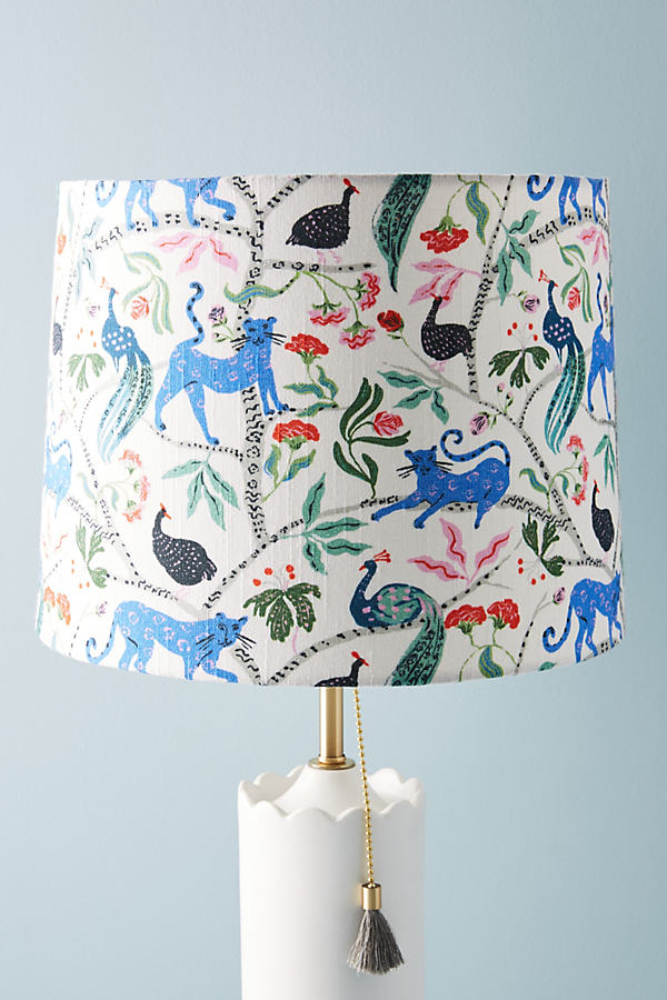 Emily Isabella Printed Lamp Shade - Assorted, Size M