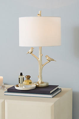 Slide View: 1: Winsome Woodland Lamp Ensemble