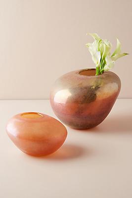 Slide View: 5: Pebbled Vase