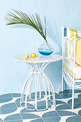 Slide View: 1: Seaford Indoor/Outdoor Side Table