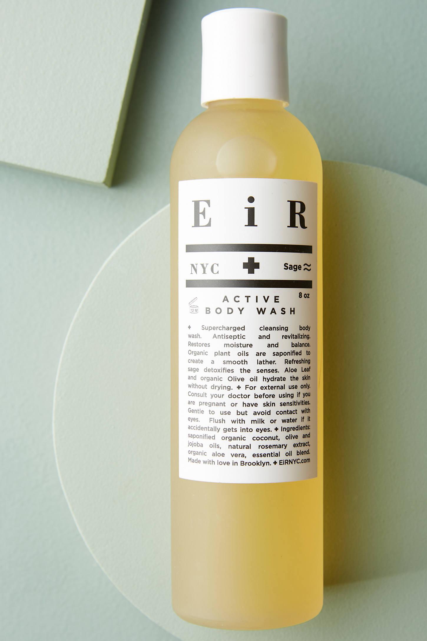 EiR NYC Active Body Wash