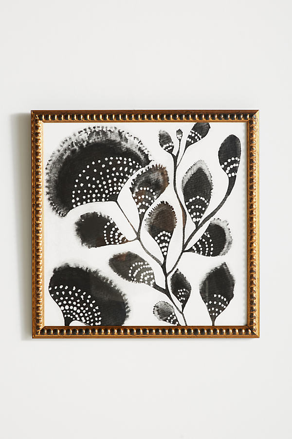 African Botanicals Wall Art - Gold, Size S