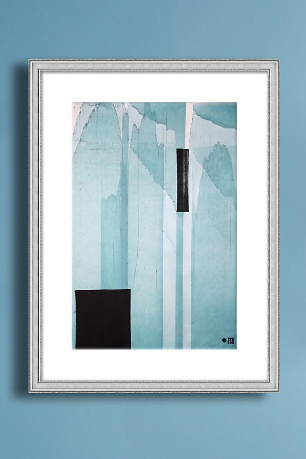 Sgraffito 603 Wall Art - Silver