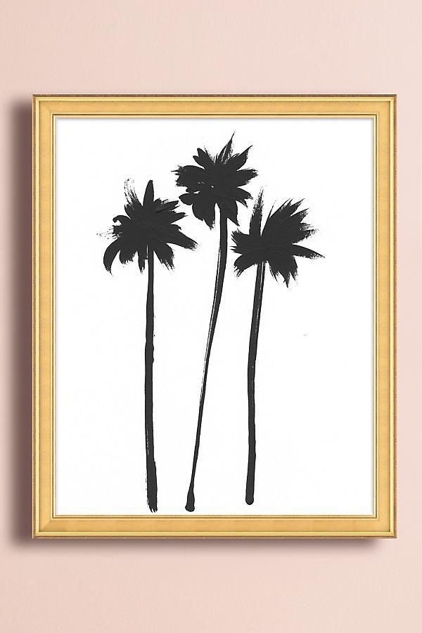 Three Palms Wall Art - Gold, Size S