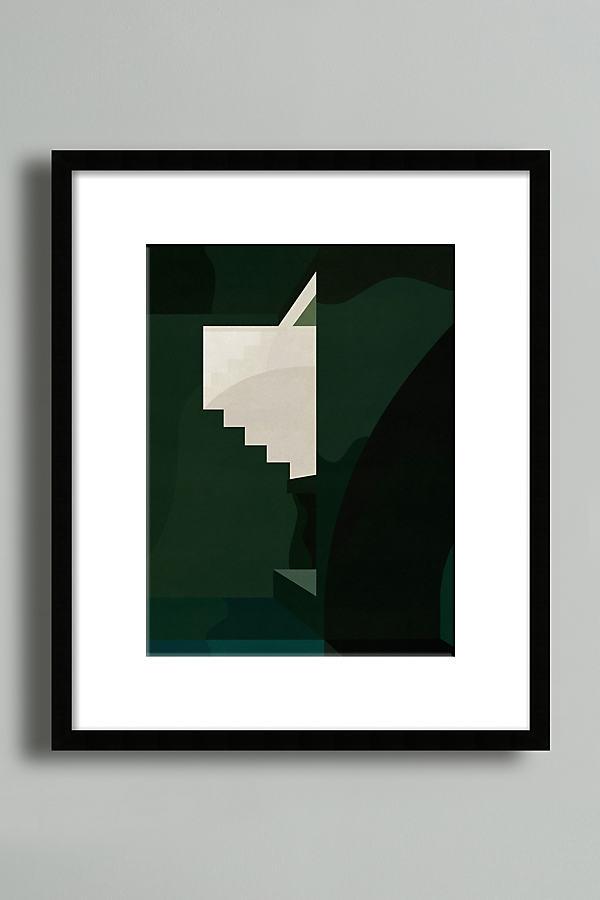 Green Case Wall Art - Black, Size L