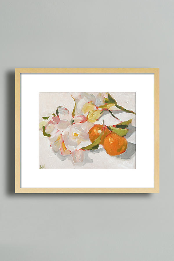 Kumquats and Freesia Wall Art