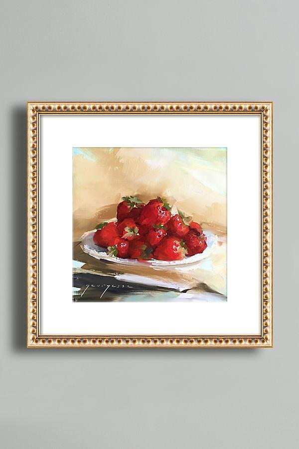 Summer Strawberries Wall Art