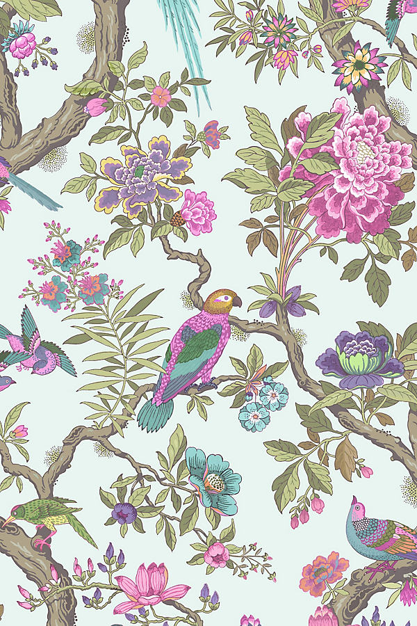 Fontainebleau Wallpaper - Pink