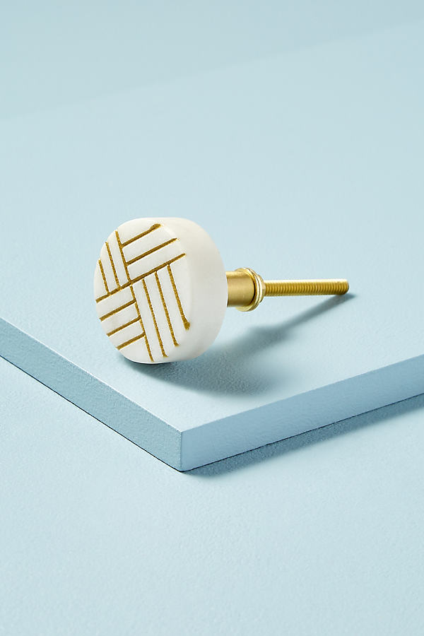 Etched-Marble Knob