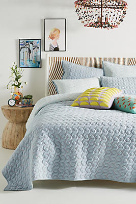 Slide View: 1: Embroidered Ainsley Quilt