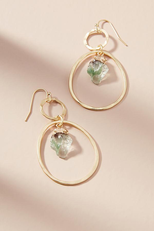 Morgana Drop Earrings - Gold