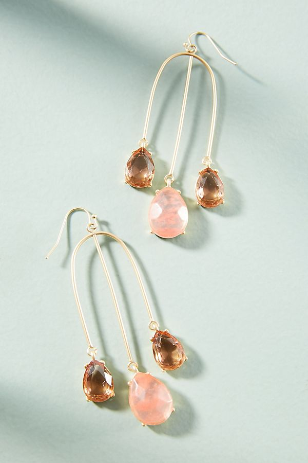 Attina chandelier earrings anthropologie slide view 1 attina chandelier earrings mozeypictures Image collections
