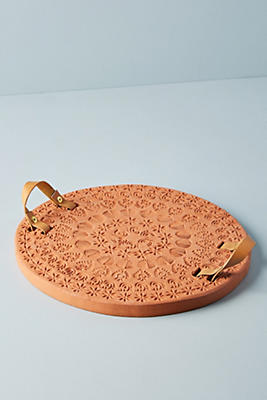 Slide View: 1: Pressed Terracotta Tray