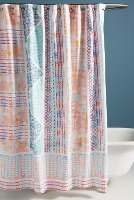 Jupiter Shower Curtain by Anthropologie