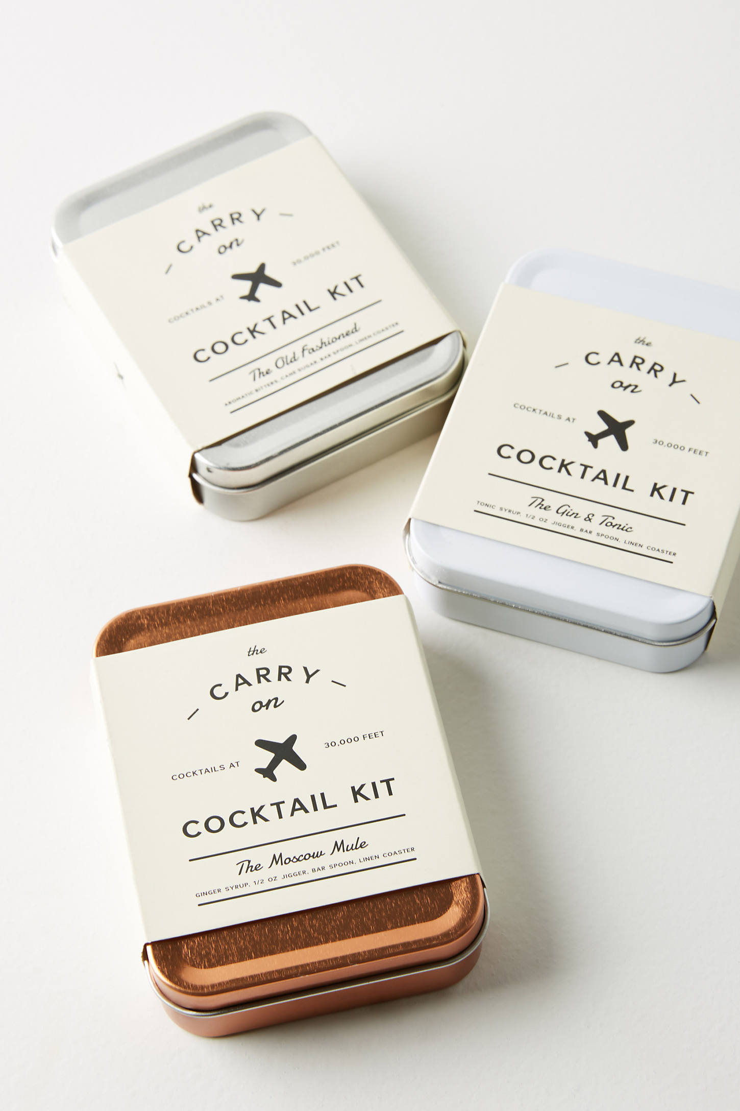 The Travel Pack Carry-On Cocktail Gift Set