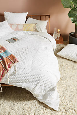 Slide View: 1: Embellished Fiona Duvet Cover