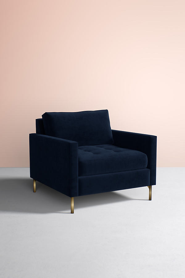 Angelina Chair - Navy