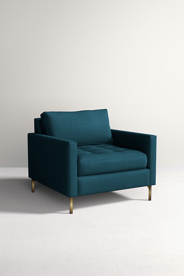Angelina Chair - Dark Turquoise