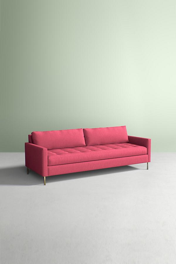 Angelina Sofa, Performance Wool - Pink