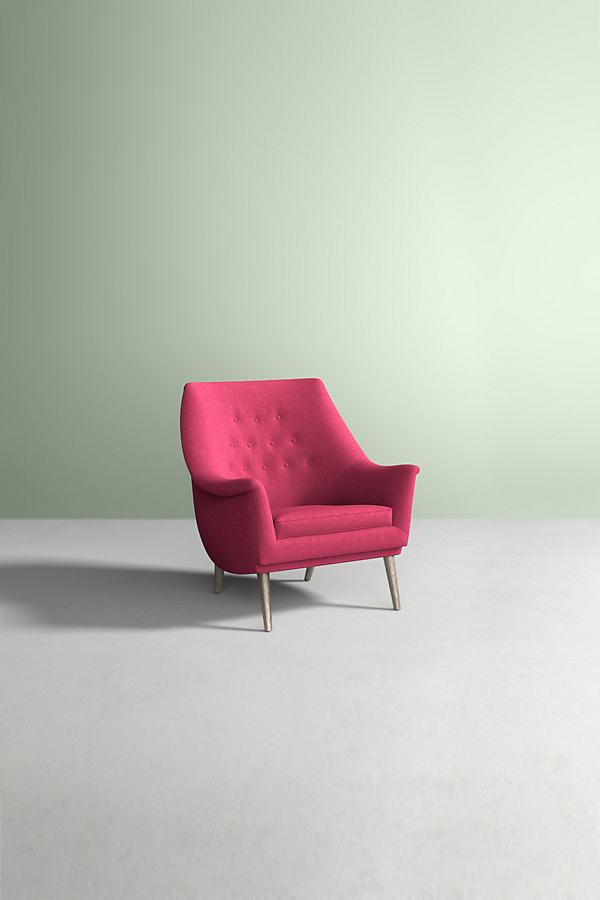 Lucha Chair, Performance Wool - Pink
