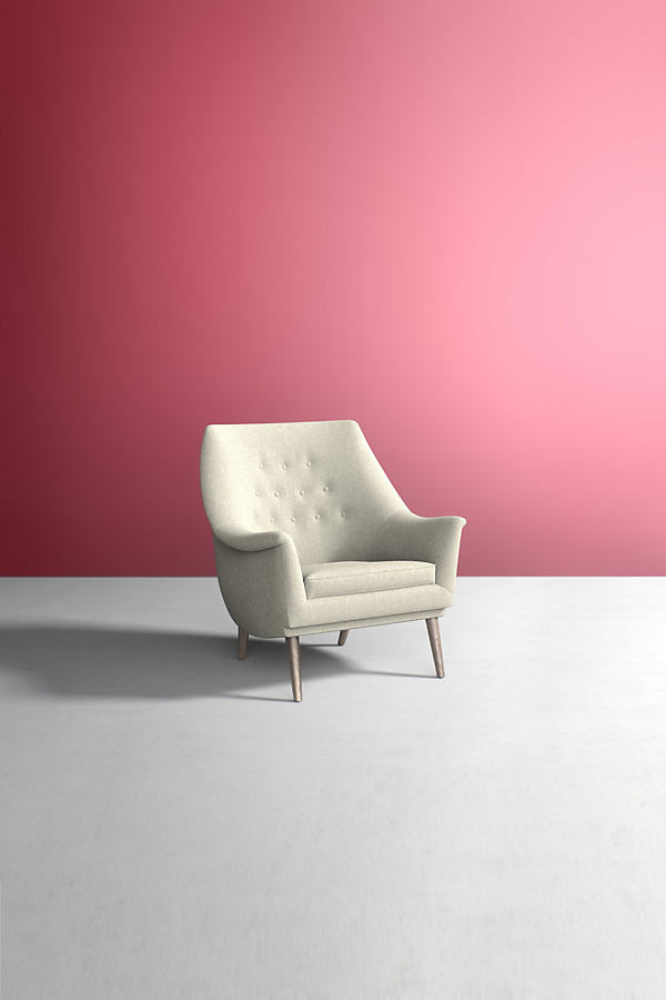 Lucha Chair, Wool - White