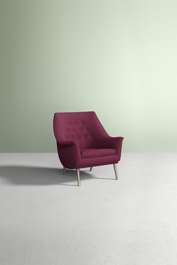 Lucha Chair, Performance Linen - Purple