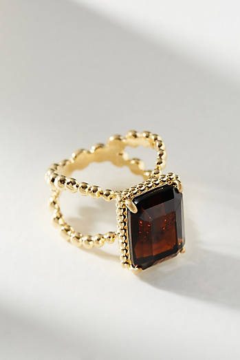 Victoria Six Square Cocktail Ring