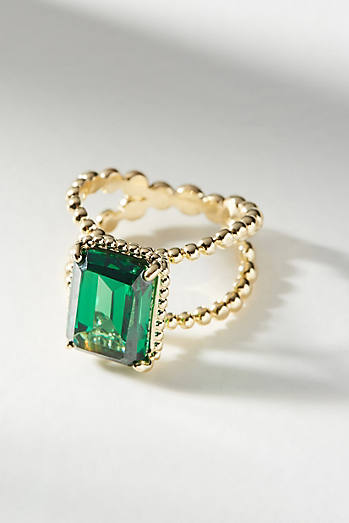 Victoria Six Petite Square Cocktail Ring