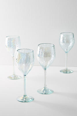 Slide View: 1: Narita Wine Glasses, Set of 4
