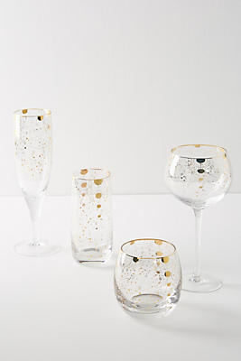 Slide View: 3: Celine Highball Glasses, Set of 4
