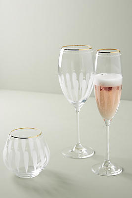 Slide View: 3: Odele Stemless Wine Glasses, Set of 4