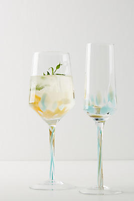 Slide View: 2: Thalia Wine Glasses, Set of 4