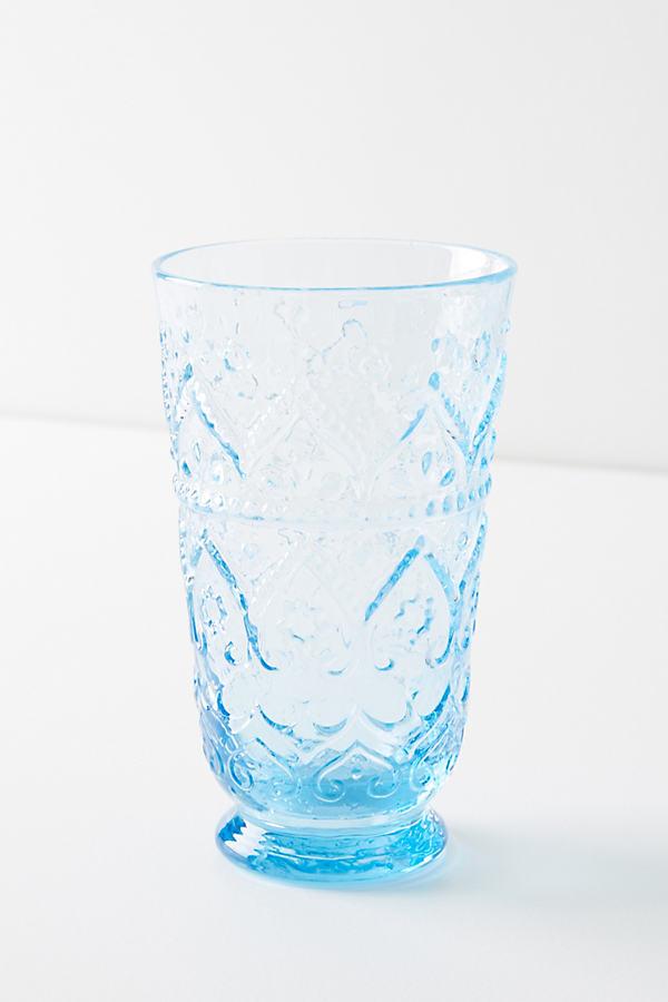 Bombay Highball Glass - Blue, Size Tumbler