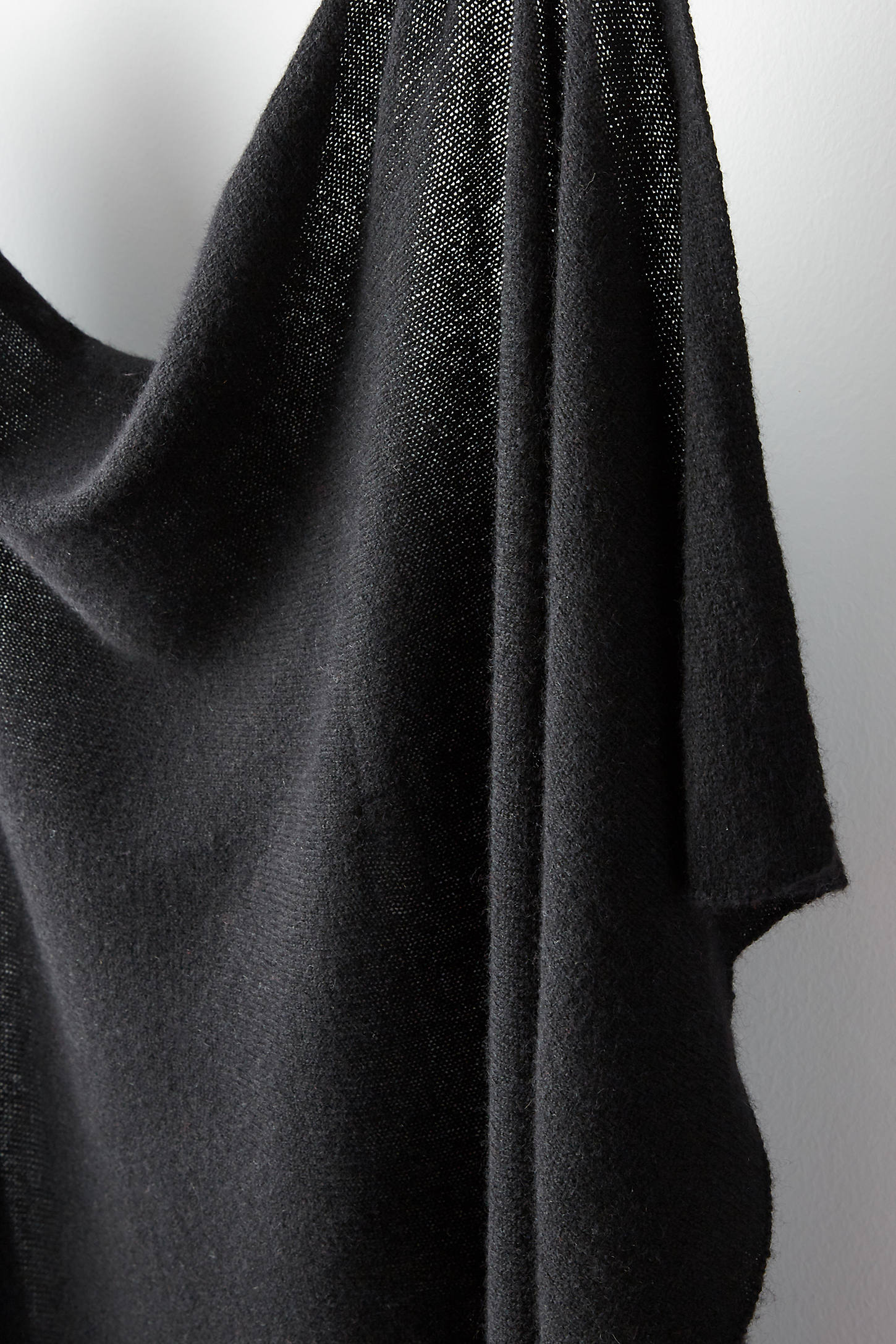 Solid Cashmere Wrap Scarf