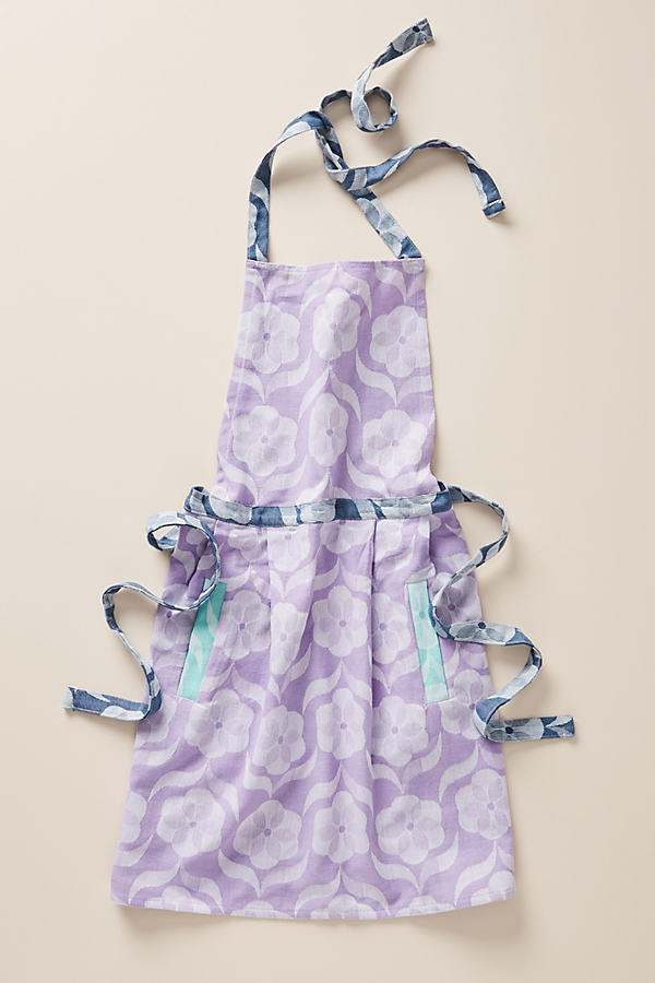 Charlotte Apron - Purple, Size Adult