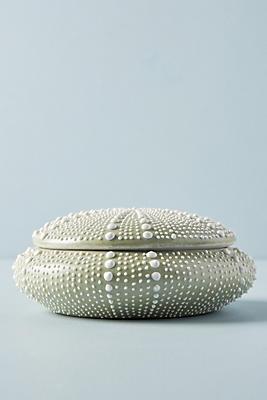 Slide View: 1: Porcelain Urchin Vessel