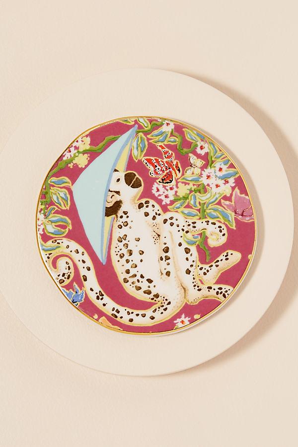 Palace Portrait Coaster - Pink, Size Coasters