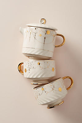 Slide View: 2: Celine Tea for Two Set