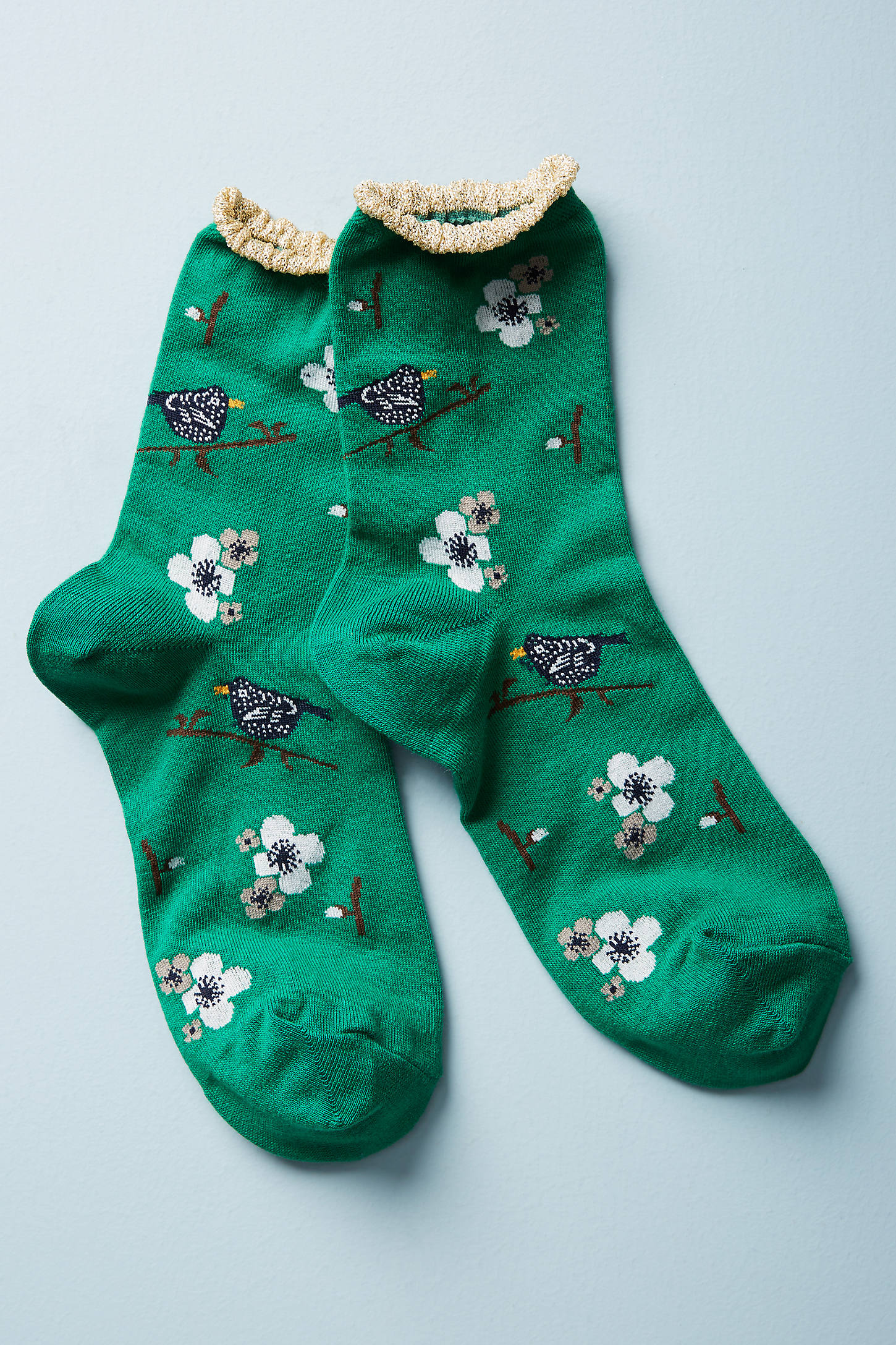 Songbird Crew Socks