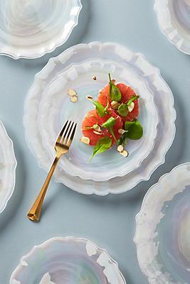 Slide View: 2: Quant Dessert Plates, Set of 4