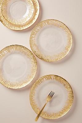Slide View: 1: Thistlewhit Dinner Plates, Set of 4