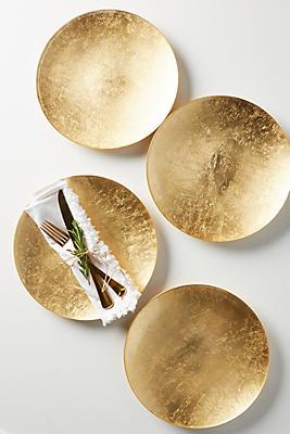 Slide View: 1: Reign Dinner Plates, Set of 4