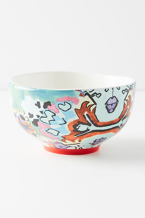 Ranya Bowl - Assorted, Size Cerealbowl