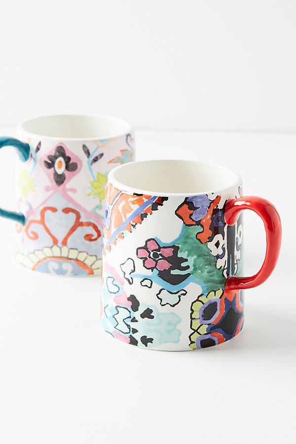 Ranya Mug - Pink, Size Mug