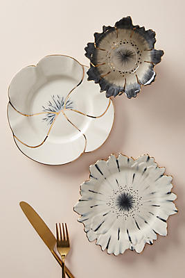 Slide View: 3: Papetal Floral Plate