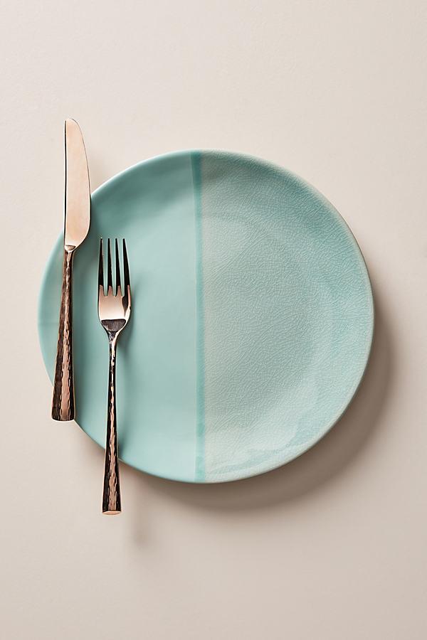 Set of 4 Keegan Dinner Plates - Mint, Size S/4 Dinner