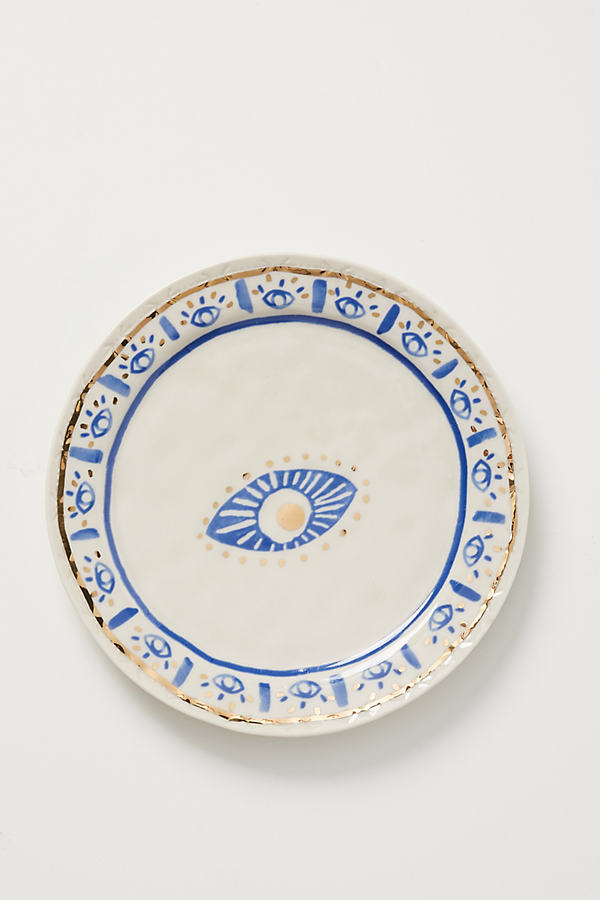 Insight Canape Plate - White, Size Dst Plate